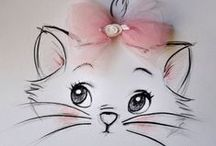 =^..^= BABY KITTY LOVE   =^..^= / LOVE  / by Diane Goodhines    Hubbard