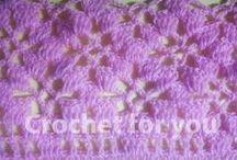 crochet stitch / crochet stitch