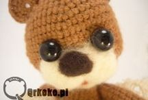 Crochet TeddyBears by Qrkoko