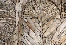 Дерево Камни Ткани - фактура