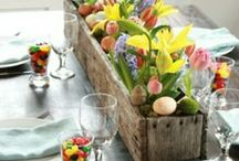 Easter Decor and More / Southern Easter decorations, crafts, recipes and more!