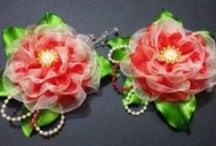 D.I.Y Satin Flower Tutorials