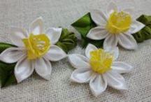 D.I.Y. Kanzashi Flower Tutorials