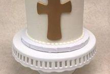 Baptism/Christening / http://thecupcakeshopperaleigh.com/celebration-cakes/