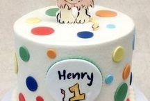 Boy Birthday / http://thecupcakeshopperaleigh.com/celebration-cakes/