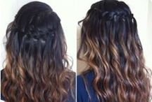 Hairstyles: Brown ombre