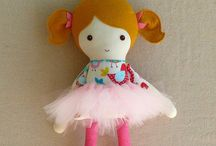 Handmade Fabric Dolls / Fabric doll inspirations