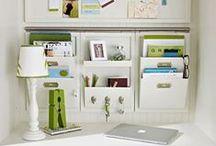 OFICINA EN CASA / Ideas para establecer o decorar oficinas en casa de manera creativa