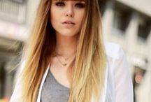 Hairstyles: blonde ombre / future hair ideas?
