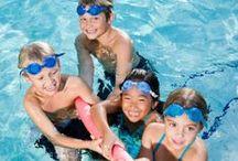 zwem les / ideeën en tips voor zwemmen, zwemles, van baby zwemmen via peuter zwemmen naar het elementair zwemmen van kleuters tot tieners