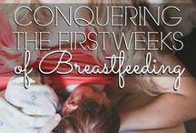 breastfeeding tips + tricks / Breastfeeding Myth #1: Breastfeeding is Intuitive. Nope. Not to most new mamas, anyway. Here, find tips and advice on all things breastfeeding. Go ahead with your bad self, mama.