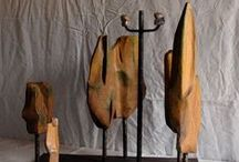 Escultura de fusta / Wood sculpture / Escultures de fusta / wood sculptures
