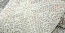 Вязание филейное