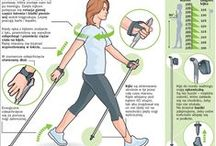 Nordic walking / Posture, breathing, exercise, wellness