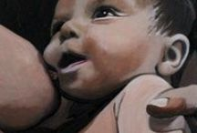 breastfeeding + art / The art and illustration of breastfeeding/nursing and pregnancy.