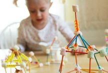 kids activities / Fun things to do with your baby, toddler or older kid. Because sometimes it's hard to conjure up creativity on a Sunday afternoon.