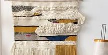 My handmade weavings / Fiberart, wallhangings. For more information : rachelrodriguez75@gmail.com