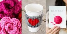 Crochet Patterns for V-day / Free/paid crochet patterns for Valentine's day.