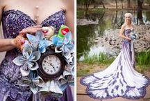 Unconventional wedding dresses