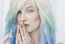 Colourful Hairs / Putting color in the hair is definitely in. Lets take a look at some of the things people are doing to brighten up their locks...