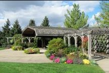 Fountain Garden at Klehm Arboretum / The elegant Covert Gazebo is the perfect site for your ceremony.With a vine covered trellis and lush flowering plants,the Covert Gazebo provides a stunning backdrop for your wedding pictures. A cascading fountain completes the ambiance of your day.