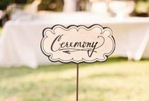 Ceremony Ideas / Wedding ceremony ideas and inspiration / by Klehm Weddings