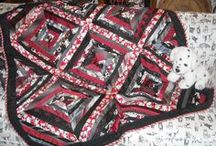 Black, White & Shades of Gray / Black, White & Gray Quilts, Dogs, Cats and other interesting things