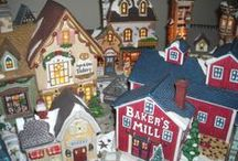 All Things Christmas / Christmas decorations, trees, quilts, cross stitch, needlepoint, gifts, food, music, china + anything else