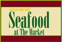 From the Sea / Just because you don't live at the shore doesn't mean you can't have fresh seafood! Stop by George & Son's at The Market at Liberty Place if these pictures get your mouth watering!