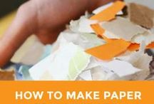 Tutorials for Hand Papermaking / Videos, tutorials, DIY for making paper by hand