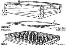 Equipment & Supplies for Hand Papermaking / Tutorials, photos, how to, for hollander beaters, moulds and deckles, deckle boxes, vacuum tables, sheet formation, presses, and more studio equipment.