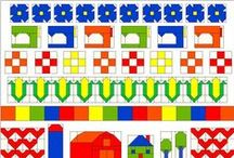 Row by Row / Row by row quilts