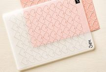 Happy Heart embossing folder / Stampin' Up! Happy Heart embossing folder