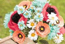 Build a Bouquet / Stampin' Up! Build a Bouquet stamp set 137166 and Bouquet Bigz L Die 137367