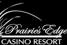 Prairie's Edge Casino Resort / Casino , hotel , restaurants and entertainment 3 miles south of Granite Falls off Hwy 23.