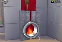 S4 Buy > Fireplaces / 暖炉関連(っ´ω`c)特に書いてないのは 装飾品 - 暖炉 に分類(っ´ω`c)