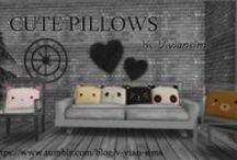 S4 Buy > Pillows (Decor) / 体の一部が埋もれないやつだけ(っ´ω`c)特に書いてないのは 装飾品 - がらくた に分類(っ´ω`c)