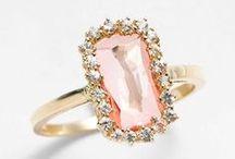 || alternative center stone engagement rings || / morganite, amethyst, moissanite, aquamarine, emeralds, rubies & sapphires - curated by, www.littlebirdtoldyou.com
