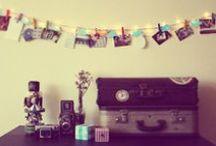 Inspirações Casa / Inspirações para decorar e deixar a casa mais aconchegante e cool.