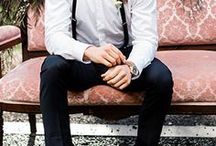 Groom Suit Ideas and Groomsmen Attire / He's got to stand out, but he's also got to look like himself and comfortable. Our groomswear ideas will help your man get his look sorted. Look great whether you are the groom, best man or one of the lucky guests. A wide range of suits, shoes and formal accessories for the perfect wedding outfit.