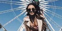 Coachella 18 / Bloggers are loving our Glamorous SS18 looks for festival season, especially the Embroidered Tasselled Jacket that we can't get enough of. . . here are our fave looks so far.