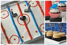 Hockey Theme Parties / Fun hockey-theme food and decorations
