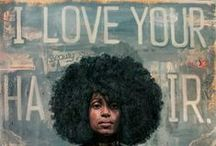 Black Hair Art / You can look into the soul of Black people through their art. See what they have to say about hair!