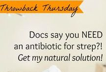 Throwback Thursday / Get the links to all of our Throwback blogs shared on Facebook, and collect the tips and protocols you may have missed to help you and your family heal with homeopathy!