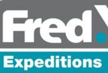 Fred.\ Expeditions / Looking to embark on the adventure of a lifetime? An expedition cruises will take you to the edges of the earth; bringing you closer to the action than ever before.