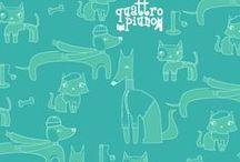 Coloring Pages&Wallpaper / Stampa tutti i disegni dei tuoi nuovi amici, colora e ritaglia in compagnia di quattropiuno!!