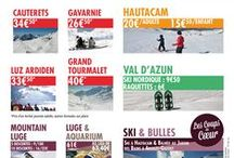 Argelès Gazost au coeur de 6 stations de ski / La vallée d'Argelès-Gazost bénéficie d'un emplacement privilégié pour varier les plaisirs du ski !