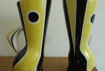 My collection / retro, vintage ceramics from Hungary or West or East Germany or Austria