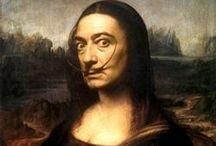 FUN. with Mona Lisa / I know it's bad ..but got so much fun... / by rosine
