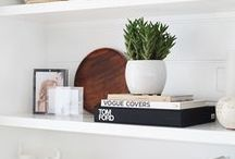 Interiors•Bookshelves & TV